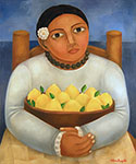 <b>Bowl of Lemons</b>, 2006<br>oil on canvas, 24 x 20 inches<br>$3000