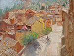 <b>Roussillon</b><br>Oil on Board, 12x16<br>$1800