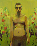 <b>The Tomato Picker</b>, 2014<br>Oil on canvas, 60x48 inches<br>$4000