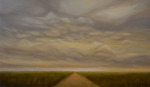 <b>November Sky by Will Klemm</b>, 2017<br>Oil on canvas, 36x60 inches<br>$9500