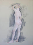 <b>Figure XLIX</b><br>Pastel, 21x16.5 inches unframed<br>$400