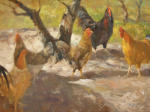 <b>Free Range</b>, 2012<br>Oil on canvas panel, 24x30 inches<br>$3200