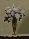 <b>Antique Roses</b>, 2017<br>Oil on panel, 12x9 inches<br>$900