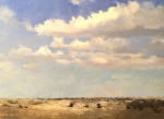 <b>Santa Rosa Afternoon</b><br>Oil on canvas, 16x20 inches<br>$2400