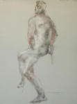 <b>Figure XII</b><br>Pastel on paper, 23x17 inches unframed<br>$400
