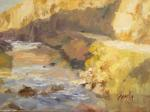 <b>Pecos Canyon</b>, 2011<br>Oil on panel, 12x16 inches<br>$1800