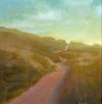 <b>Dune Path</b><br>Oil on panel, 12x12 inches<br>$1050