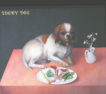 <b>Lucky Dog</b><br>Oil, 12x16 inches<br>$4000