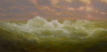 <b>Big Wave</b>, 2017<br>Oil on canvas, 24x48 inches<br>$4800