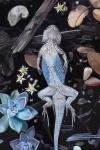 <b>Lizard II by Stella Alesi</b><br>Oil on panel, 18x12 inches<br>$1600