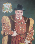 Winston Churchill As Henry VIII