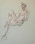<b>Figure V</b><br>Pastel on paper, 23x17 inches unframed<br>$400