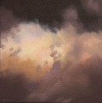 <b>Cloud</b>, 2015<br>Oil on canvas, 18x18 inches<br>$2400