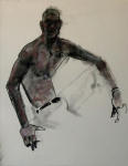 <b>Figure XXXIX</b><br>Pastel on paper, 23x17 inches unframed<br>$400
