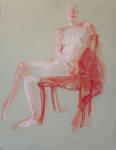 <b>Figure XIX</b><br>Pastel on paper, 23x17 inches unframed<br>$400