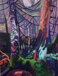 <b>Only for One Place</b>, 2015<br>Acrylic on canvas, 48x36 inches<br>$3400