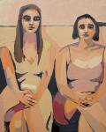 <b>Wedding Girls</b>, 2013<br>Oil on canvas, 60x48 inches<br>$4000