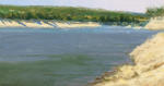 <b>Lake Travis by Brian Lee</b>, 2012<br>Oil, 8x15 inches<br>$750