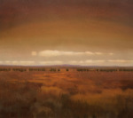 <b>West Texas</b>, 2016<br>Oil on canvas, 36x40 inches<br>$7000