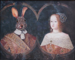 <b>Master and Mistress of Hare Wood Hall</b>, 2014<br>Oil on canvas, 16x20 inches<br>$7500