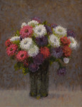 <b>Bouquet</b>, 2017<br>Oil on panel, 12x9 inches<br>$900