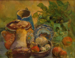 <b>Still Life</b><br>Gouache, 22x30 inches, 27x34 inches framed<br>$2800