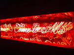 <b>Come to Me</b>, 2011<br>Acrylic, vintage neon and electrical parts, 44x12x15<br>$5100