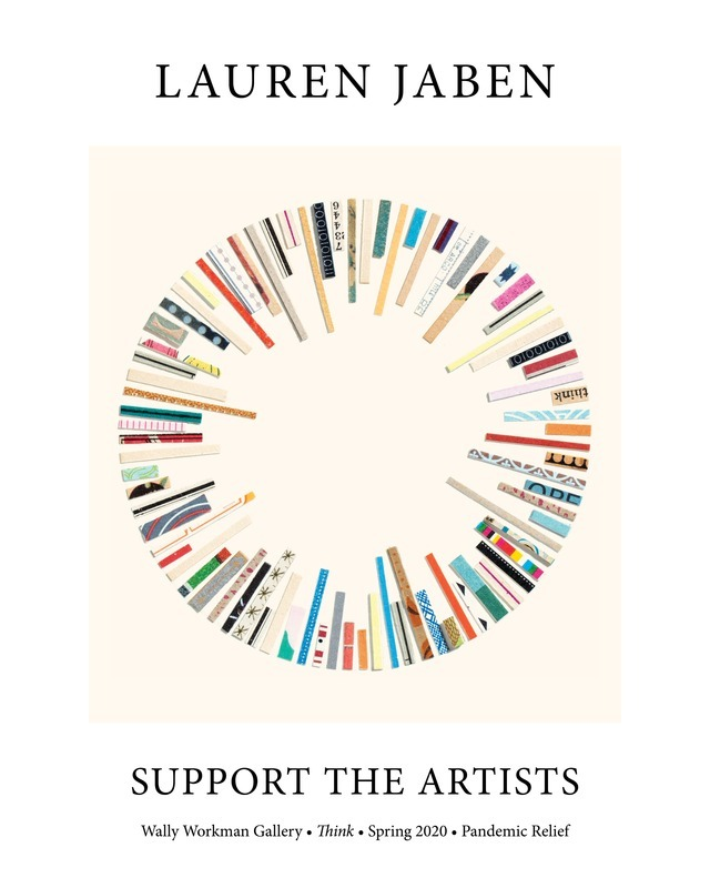 Lauren Jaben, Support The Artists poster