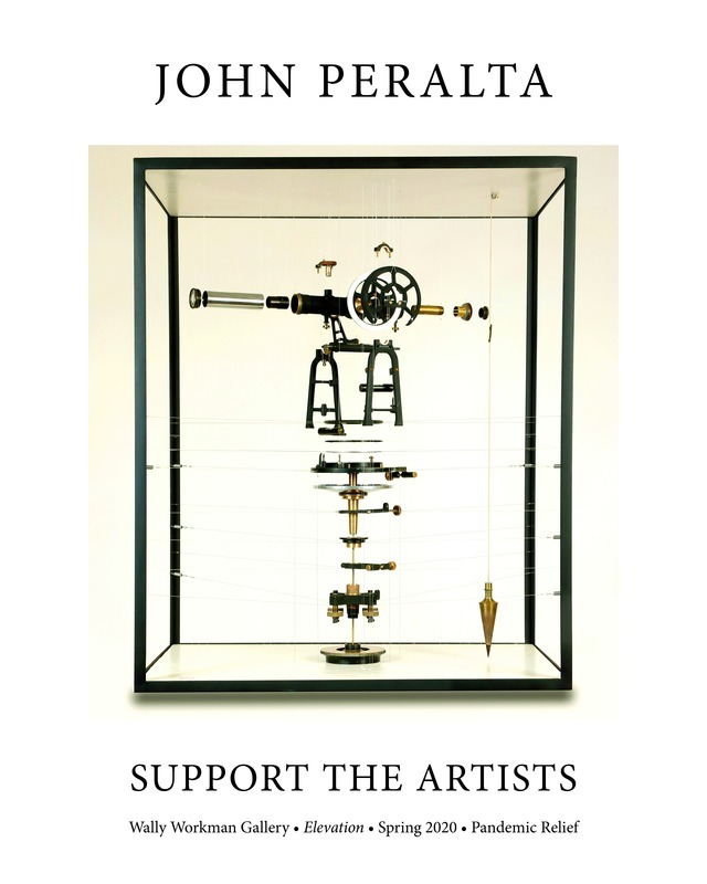 John Peralta, Support The Artists poster