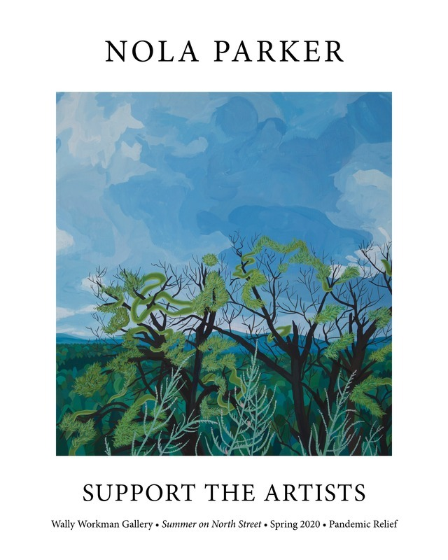 Nola Parker, Support The Artists poster