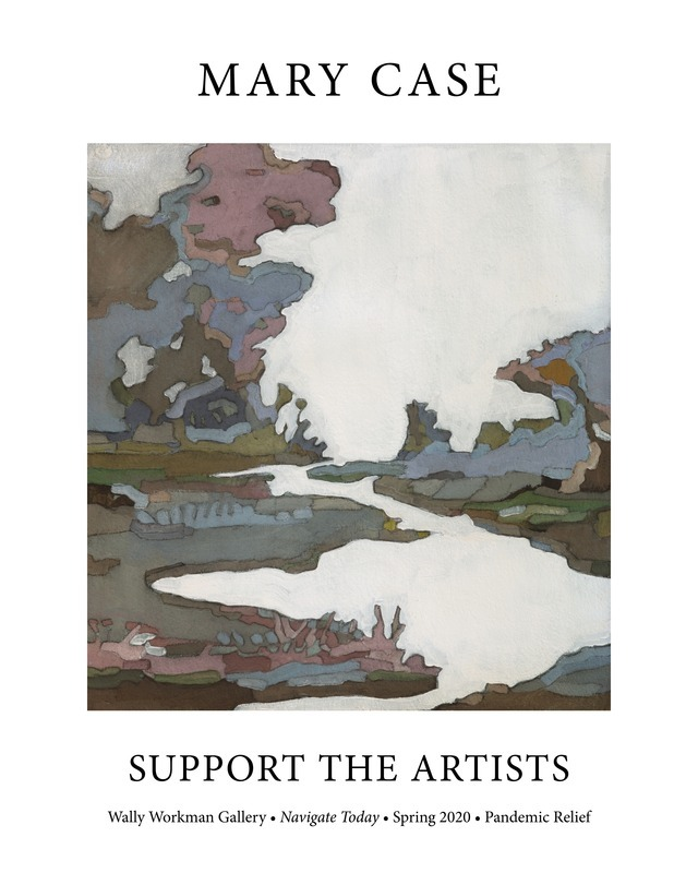Mary Case, Support The Artists poster