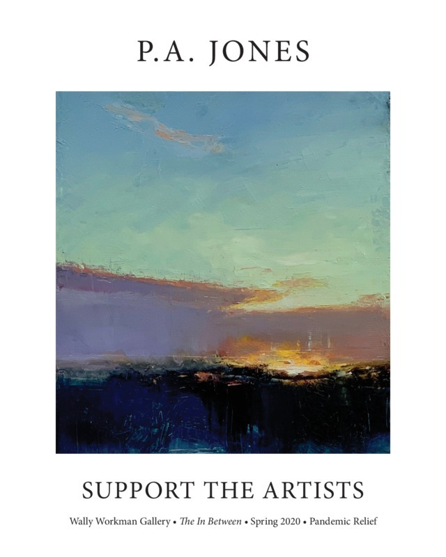 P.A. Jones, Support The Artists poster