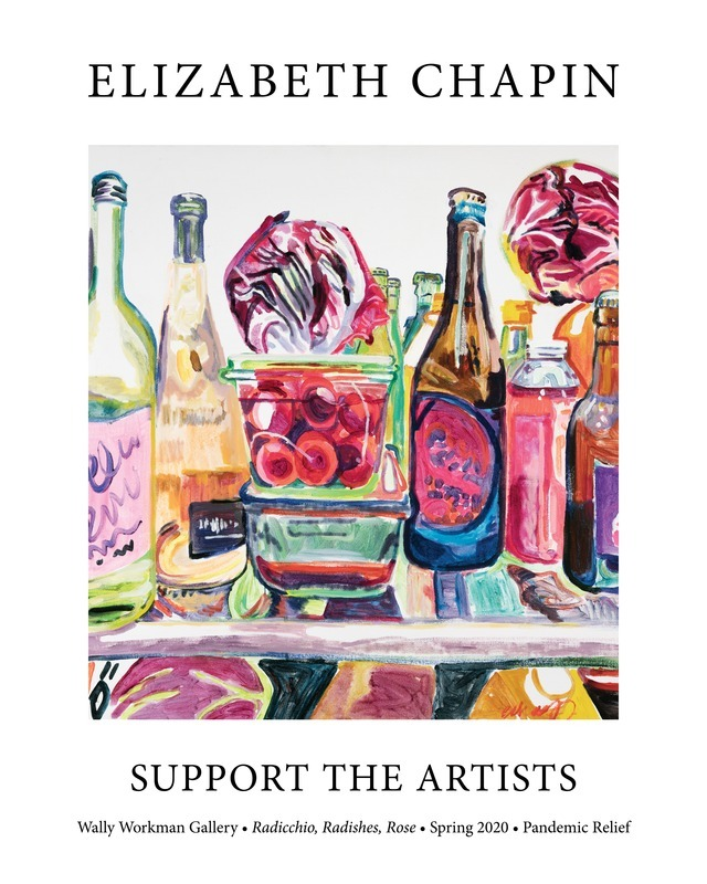 Elizabeth Chapin, Support The Artists poster
