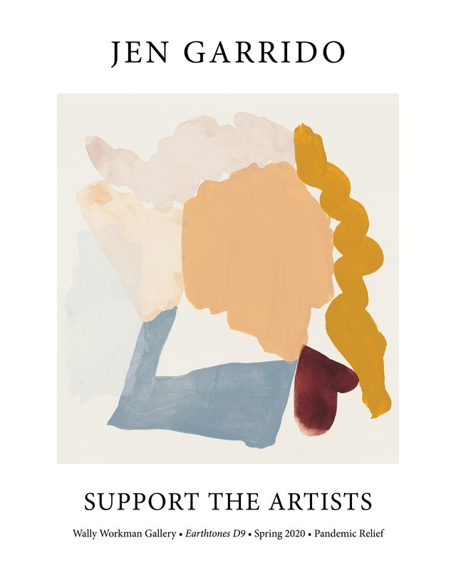 Jen Garrido, Support The Artists poster