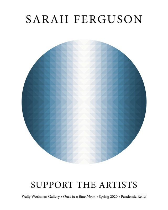 Sarah Ferguson, Support The Artists poster
