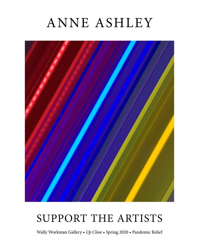 Anne Ashley, Support The Artists poster