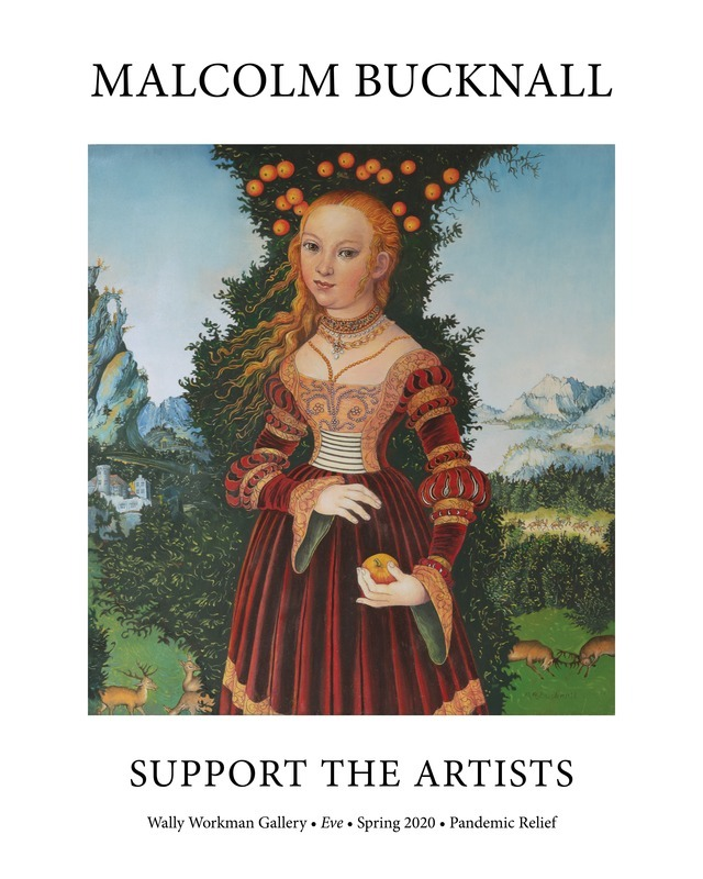 Malcolm Bucknall, Support the Artists poster