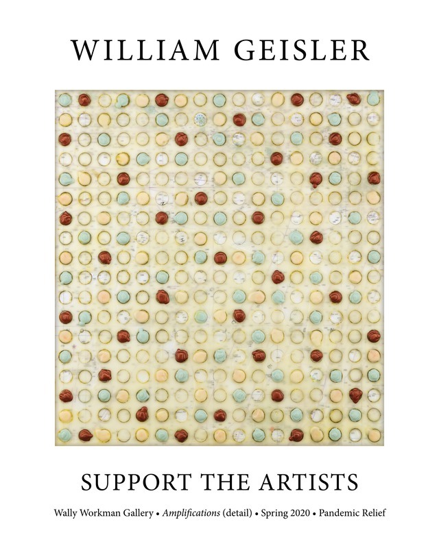 William Geisler, Support The Artists poster