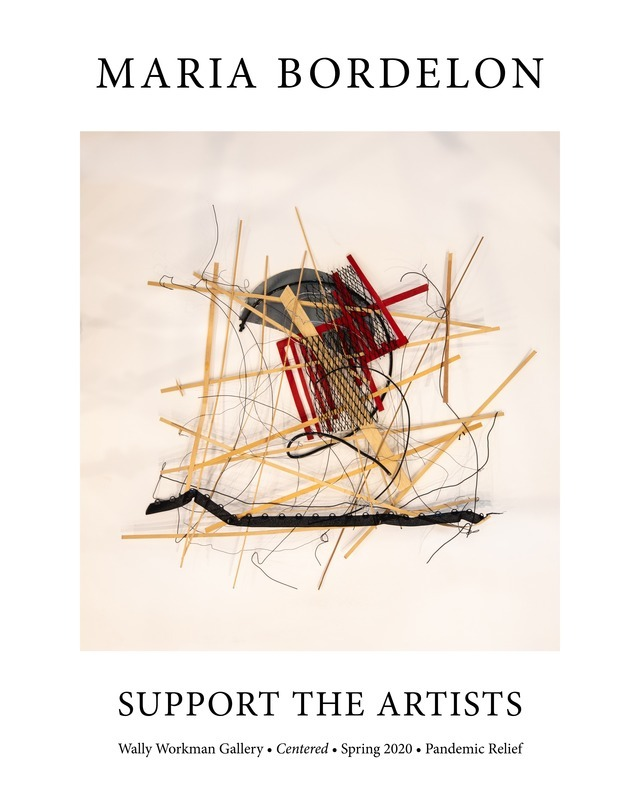Maria Bordelon, Support The Artists poster