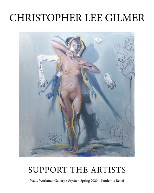 Christopher Lee Gilmer, Support the Artists poster