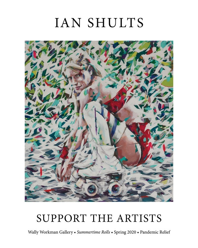 Ian Shults, Support the Artists poster