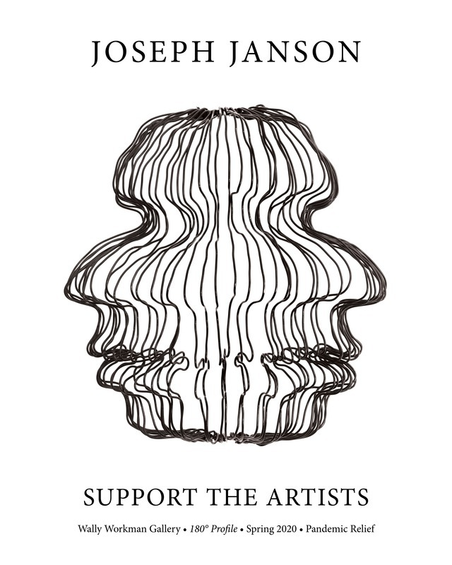 Joseph Janson, Support The Artists poster