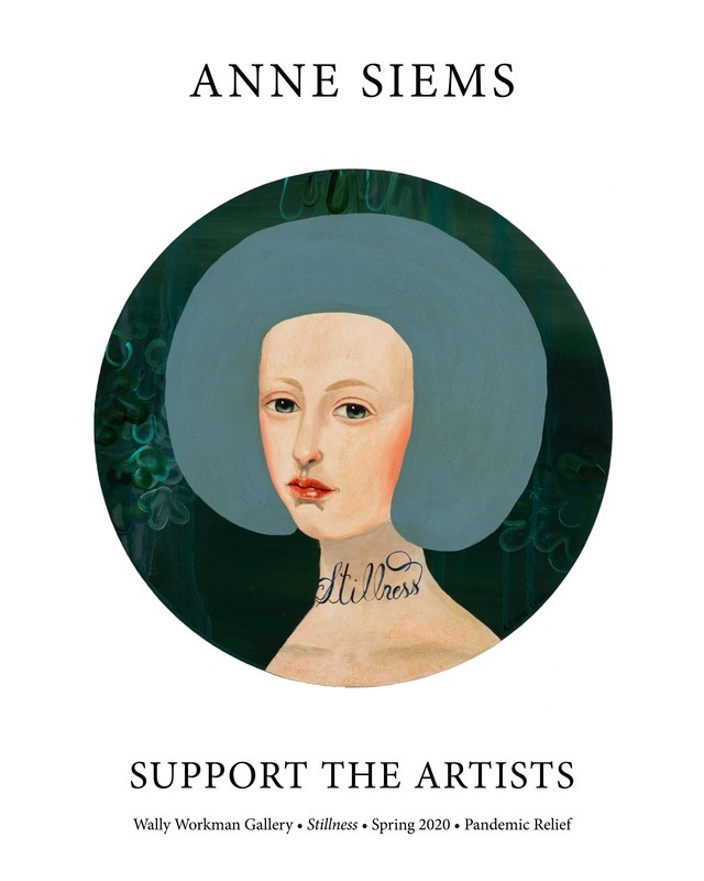 Anne Siems, Support The Artists poster