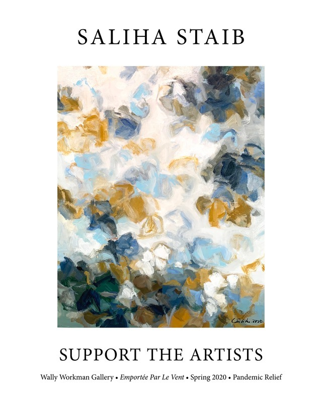 Saliha Staib, Support The Artists poster