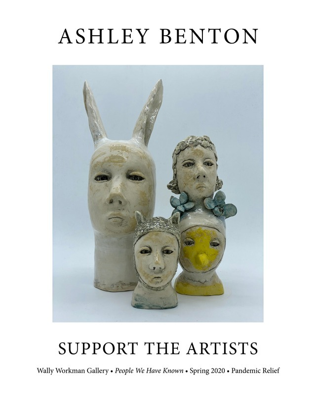 Ashley Benton, Support The Artists poster