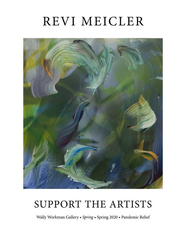 Revi Meicler, Support The Artists poster
