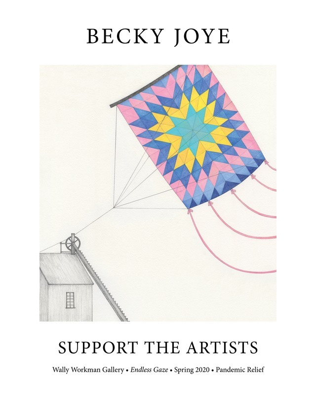 Becky Joye, Support The Artists poster