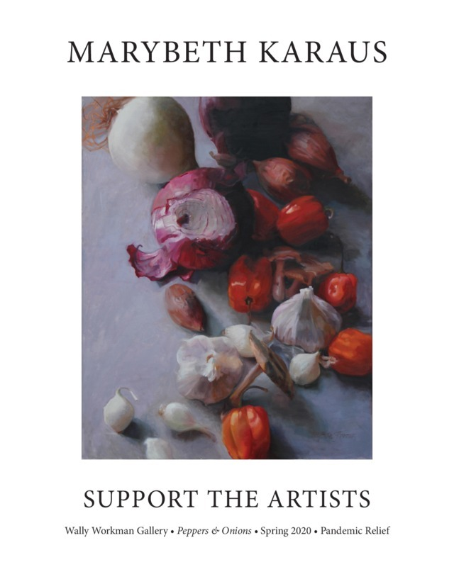 MaryBeth Karaus, Support The Artists poster