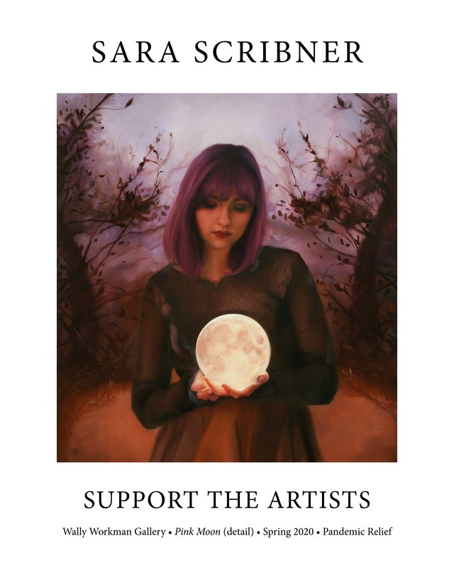 Sara Scribner, Support The Artists poster