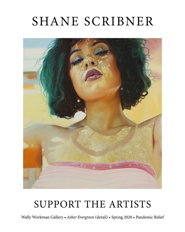 Shane Scribner, Support The Artists poster